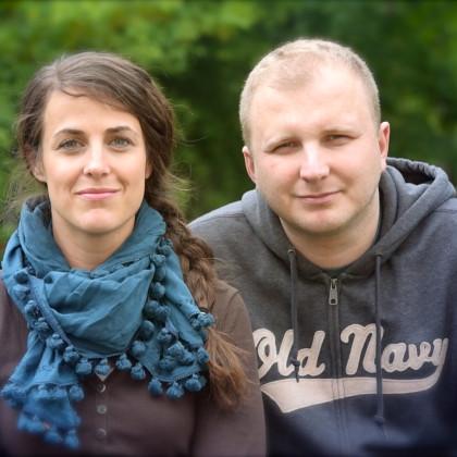Stephanie i Tomasz Gużda
