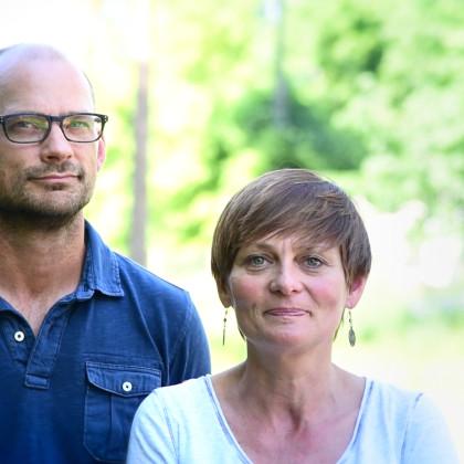 Agnieszka i John Crozier