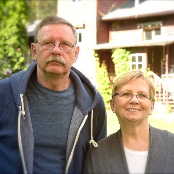 Halina i Józef Kościuk